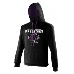 Sweat capuche contrasté PREDATORS
