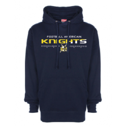 Sweat-shirt capuche gris KNIGHTS
