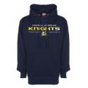 Sweat-shirt capuche navy KNIGHTS