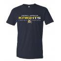 T shirt navy KNIGHTS