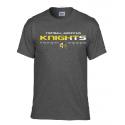 T shirt dark heather (gris chiné foncé) KNIGHTS