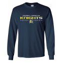 T-shirt manches longues navy KNIGHTS
