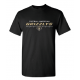 T-shirt noir GRIZZLYS