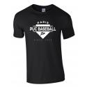 """T shirt noir """"Since 1923"""" PUC Baseball"""