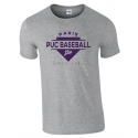 "T shirt gris ""Since 1923"" PUC Baseball"