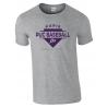 "T shirt gris ""Since 1923"" PUC Baseball"