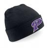 Bonnet avec revers noir PUC Baseball