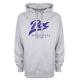 Sweat-shirt capuche gris PUC baseball