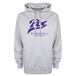 Sweat-shirt capuche gris PUC baseball