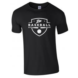T shirt noir PUC baseball