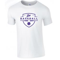 T shirt blanc PUC baseball