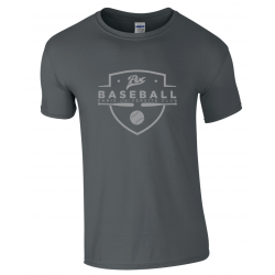 T shirt gris foncé PUC baseball