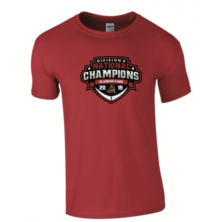 T shirt CHAMPIONS 2019 VIKINGS
