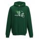 Sweat-shirt capuche vert GIANTS
