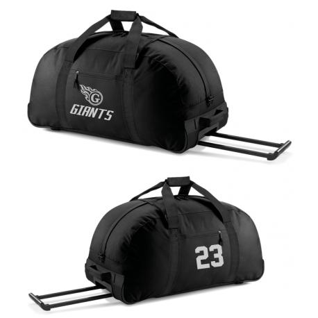 Grand sac à roulettes GIANTS avec numéro OFFERT