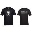 Men t-shirt Built to Dominate