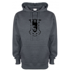 PAC charcoal hoodie (shipping cost included)