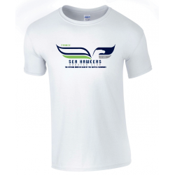 T-shirt blanc Seattle Seahawkers